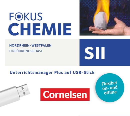 Fokus Chemie - Sekundarstufe II - Unterrichtsmanager Plus auf USB-Stick - Einführungsphase
