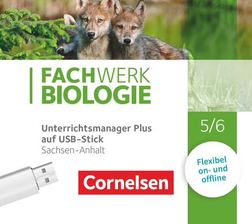 Fachwerk Biologie - Unterrichtsmanager Plus auf USB-Stick - 5./6. Schuljahr