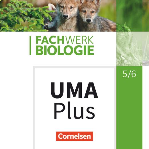 Fachwerk Biologie - Unterrichtsmanager Plus - mit Download für Offline-Nutzung - 5./6. Schuljahr