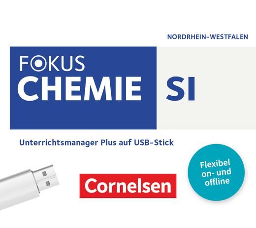 Fokus Chemie - Neubearbeitung - Unterrichtsmanager Plus auf USB-Stick - Gesamtband