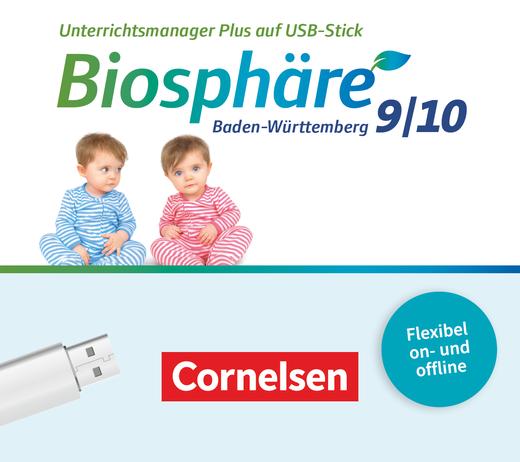Biosphäre Sekundarstufe I - Unterrichtsmanager Plus auf USB-Stick - 9./10. Schuljahr