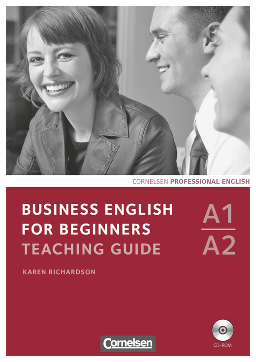 Business English for Beginners - Teaching Guide mit CD-ROM - A1/A2