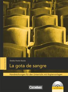 Espacios literarios - La gota de sangre - Handreichungen für den Unterricht - B2