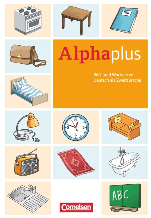Alpha plus - Bild- und Wortkarten - A1