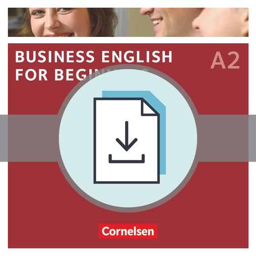 Business English for Beginners - Einstufungstest als Download - A2