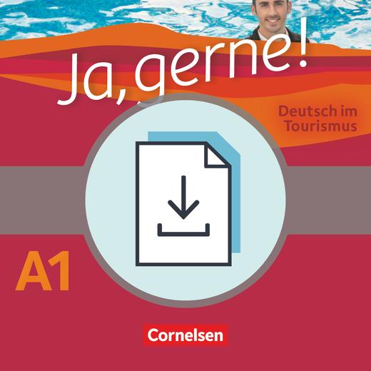 Ja, gerne! - Deutsch im Tourismus - Glossar Deutsch-Englisch als Download - A1