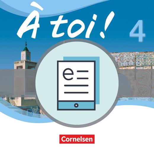 À toi ! - Schülerbuch als E-Book - Band 4