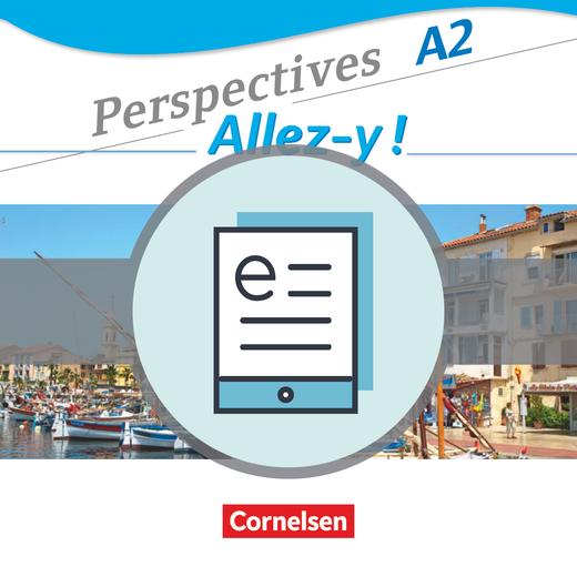 Perspectives - Allez-y ! - Kurs- und Übungsbuch als E-Book - A2