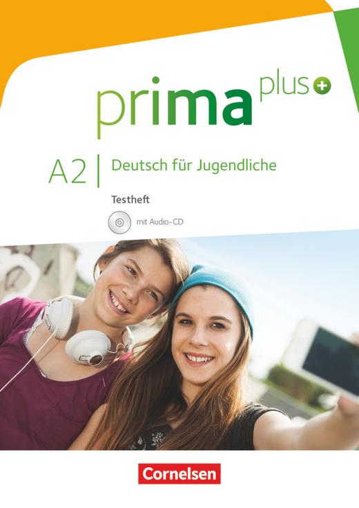 Prima plus - Testheft mit Audio-CD - A2: zu Band 1 und 2