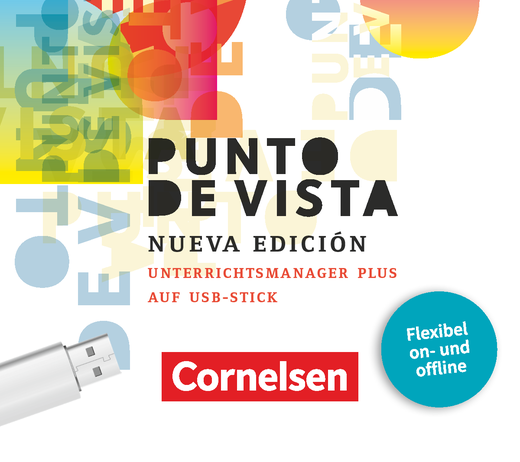 Punto de vista - Unterrichtsmanager Plus auf USB-Stick - B1/B2