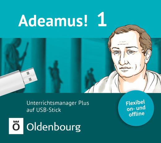 Adeamus! - Unterrichtsmanager Plus auf USB-Stick - Band 1