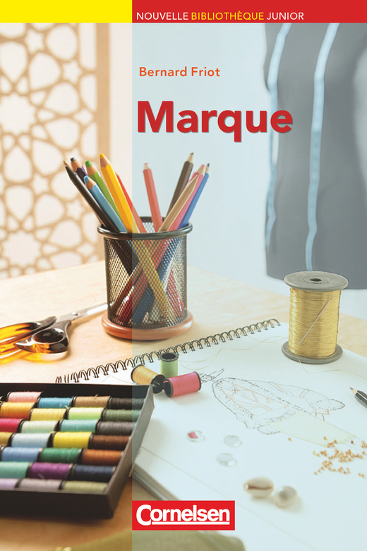 Nouvelle Bibliothèque Junior - Marque - Lektüre mit eingelegtem Vokabular - A2