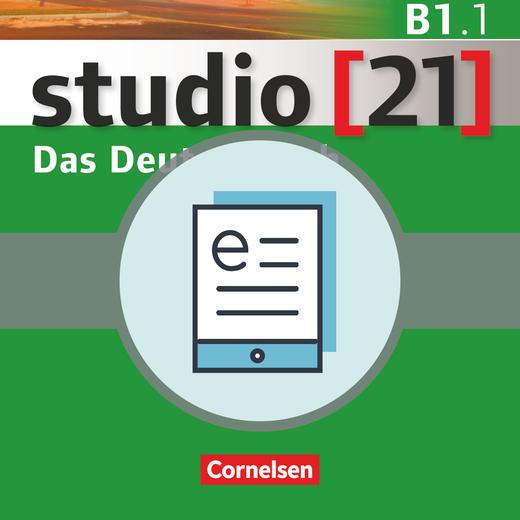 Studio [21] - Kurs- und Übungsbuch als E-Book - B1: Teilband 1