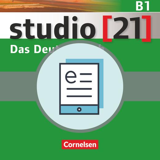 Studio [21] - Kurs- und Übungsbuch als E-Book - B1: Gesamtband