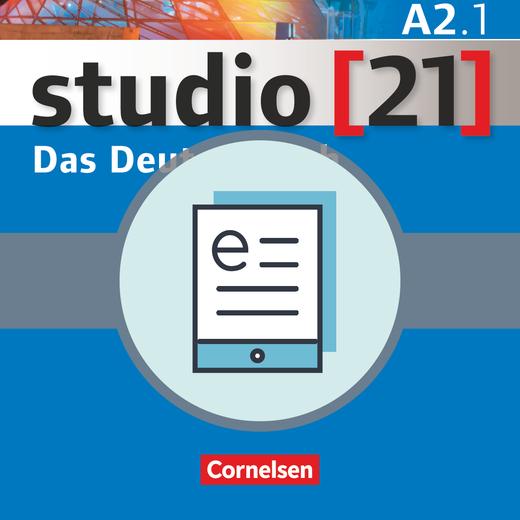 Studio [21] - Kurs- und Übungsbuch als E-Book - A2: Teilband 1