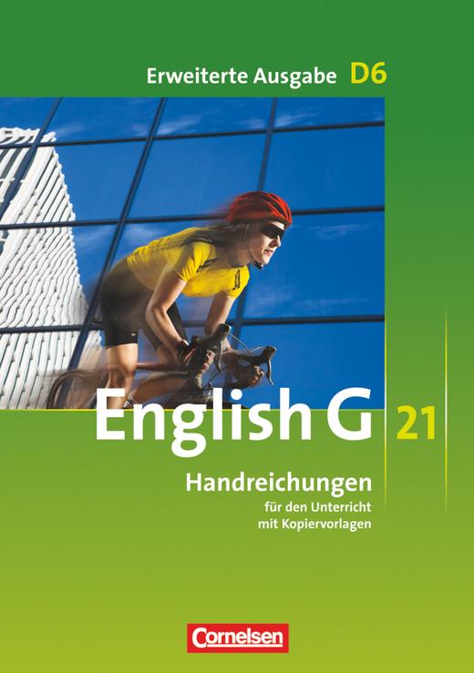 English G 21 - Handreichungen für den Unterricht - Band 6: 10. Schuljahr