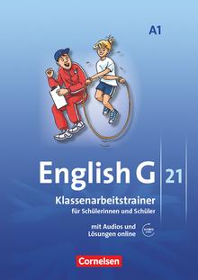 English G 21 - Klassenarbeitstrainer mit Audios und Lösungen online - Band 1: 5. Schuljahr
