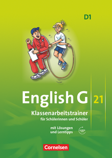 English G 21 - Klassenarbeitstrainer mit Lösungen und Audios online - Band 1: 5. Schuljahr