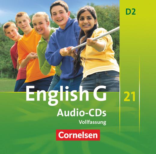 English G 21 - Audio-CDs - Band 2: 6. Schuljahr