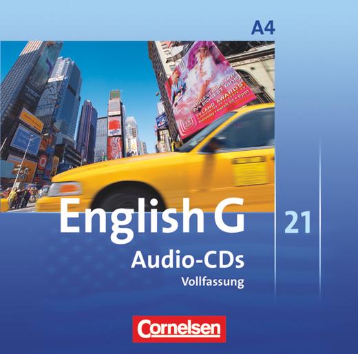English G 21 - Audio-CDs - Band 4: 8. Schuljahr