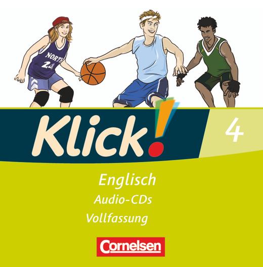 Klick! Englisch - Lieder- und Text-CDs - Band 4: 8. Schuljahr