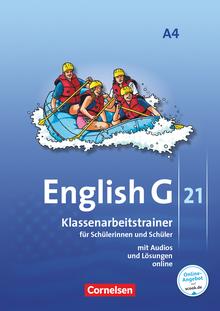 English G 21 - Klassenarbeitstrainer mit Audios und Lösungen online - Band 4: 8. Schuljahr