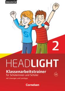 English G Headlight - Klassenarbeitstrainer mit Lösungen und Audios online - Band 2: 6. Schuljahr