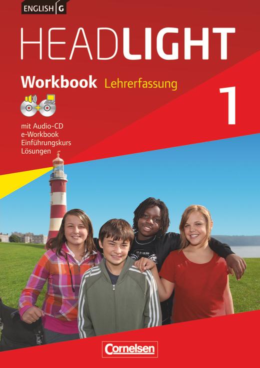 English G Headlight - Workbook mit Audio-CD und e-Workbook - Lehrerfassung - Band 1: 5. Schuljahr
