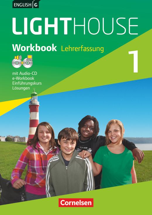 English G Lighthouse - Workbook mit CD-ROM (e-Workbook) und Audio-CD - Lehrerfassung - Band 1: 5. Schuljahr