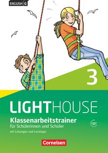 English G Lighthouse - Klassenarbeitstrainer mit Lösungen und Audios online - Band 3: 7. Schuljahr