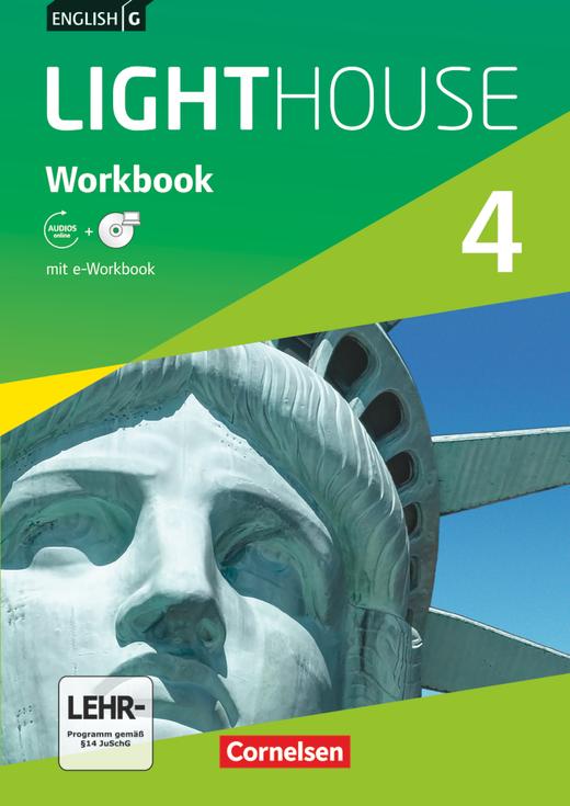 English G Lighthouse - Workbook mit CD-ROM (e-Workbook) und Audios online - Band 4: 8. Schuljahr