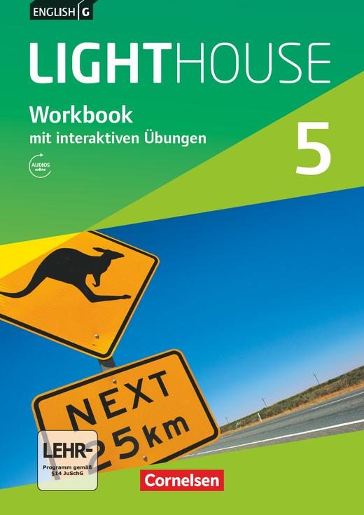 English G Lighthouse - Workbook mit interaktiven Übungen auf scook.de - Band 5: 9. Schuljahr
