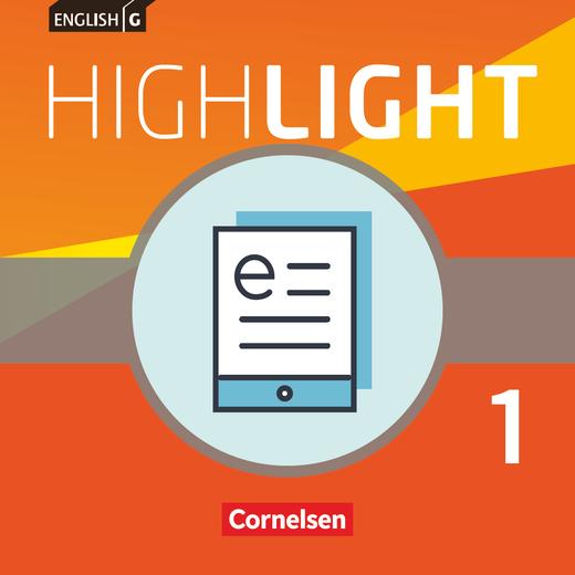English G Highlight - Schülerbuch als E-Book - Band 1: 5. Schuljahr