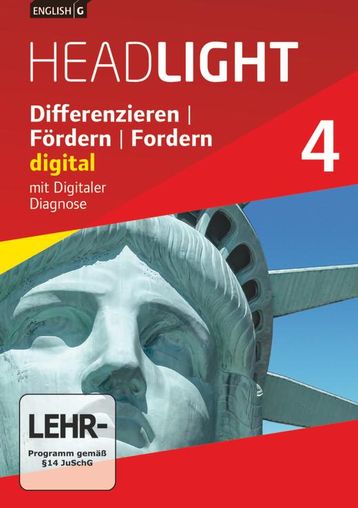 English G Headlight - Differenzieren, Fördern, Fordern - digital - DVD-ROM - Band 4: 8. Schuljahr