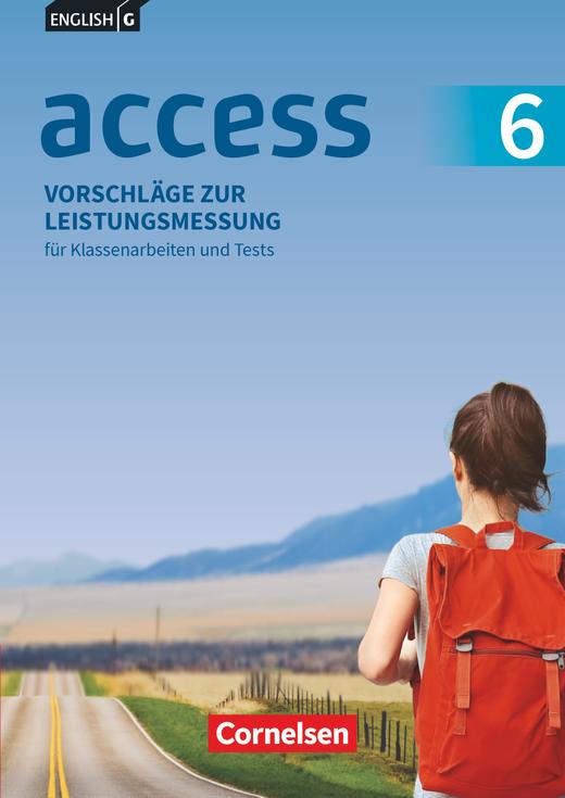Access - Vorschläge zur Leistungsmessung - Für Klassenarbeiten und Tests - CD-Extra - Band 6: 10. Schuljahr