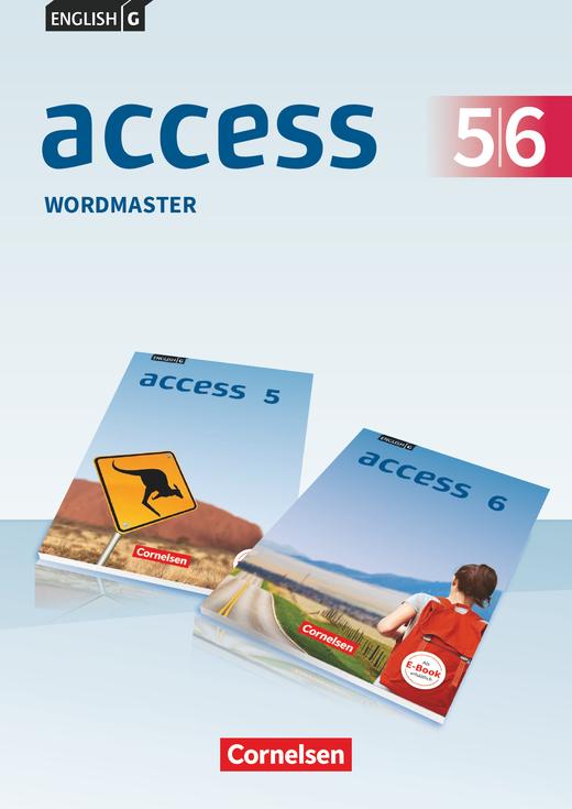 Access - Wordmaster mit Lösungen - Band 5/6: 9./10. Schuljahr