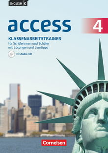 English G Access - Klassenarbeitstrainer mit Audios und Lösungen online - Band 4: 8. Schuljahr