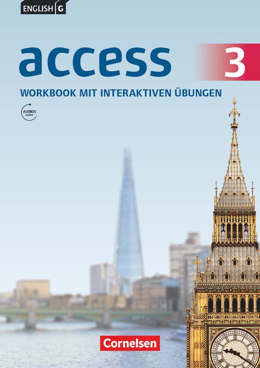 Access - Workbook mit interaktiven Übungen auf scook.de - Band 3: 7. Schuljahr
