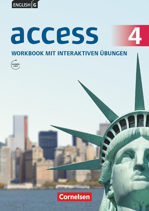 English G Access - Workbook mit interaktiven Übungen auf scook.de - Band 4: 8. Schuljahr
