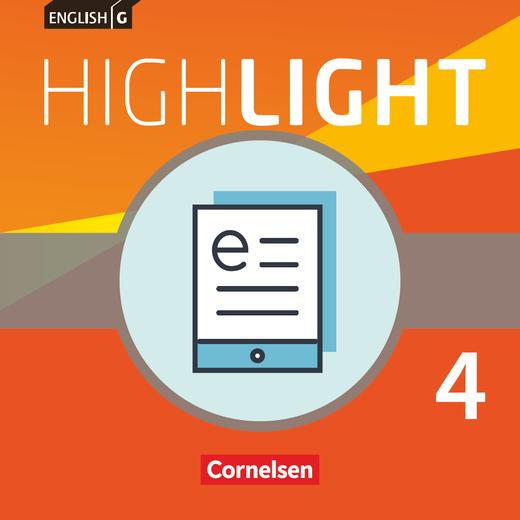English G Highlight - Schülerbuch als E-Book - Band 4: 8. Schuljahr