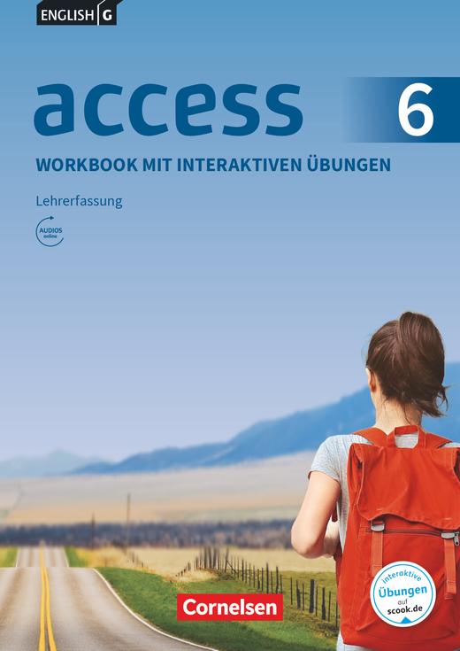 Access - Workbook mit interaktiven Übungen auf scook.de - Lehrerfassung - Band 6: 10. Schuljahr