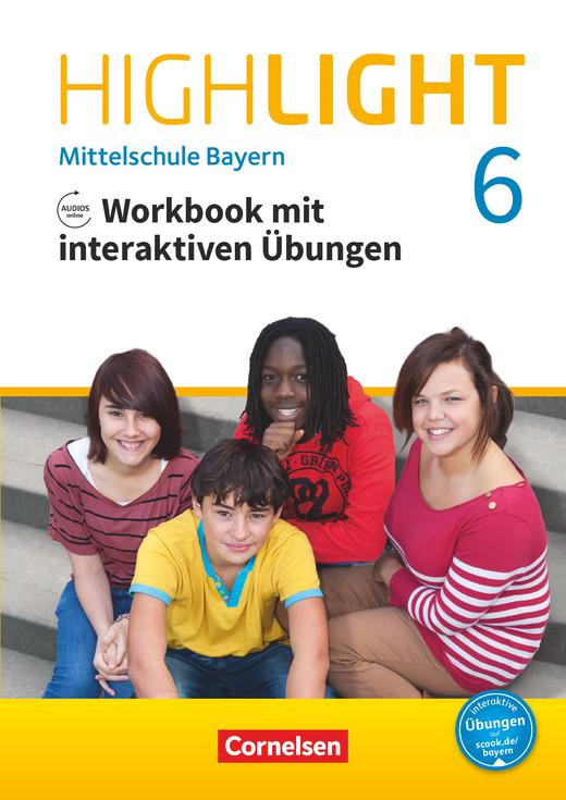 Highlight - Workbook mit interaktiven Übungen auf scook.de - 6. Jahrgangsstufe