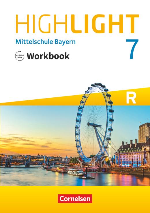 Highlight - Workbook mit Audios online - 7. Jahrgangsstufe