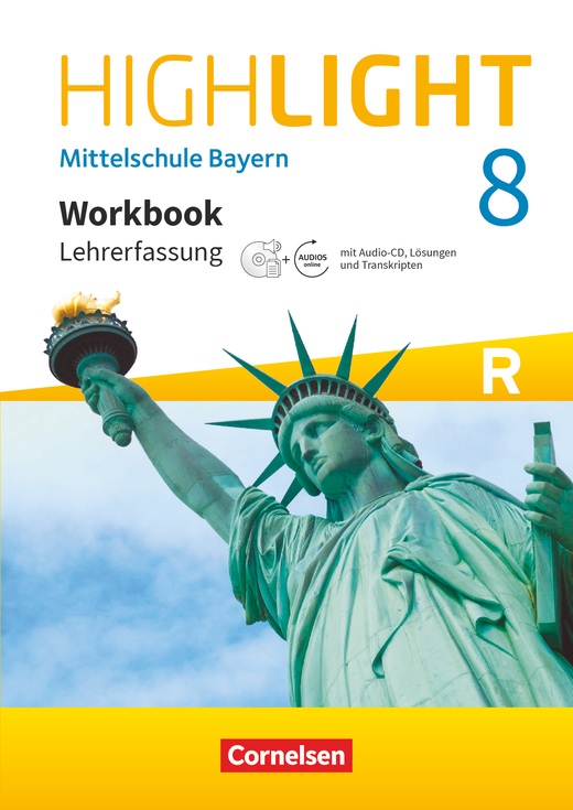 Highlight - Workbook - Lehrerfassung - 8. Jahrgangsstufe