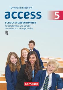 Access - Schulaufgabentrainer mit Audios und Lösungen online - 5. Jahrgangsstufe