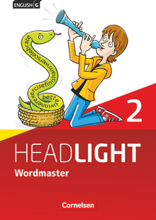 English G Headlight - Wordmaster mit Lösungen - Band 2: 6. Schuljahr