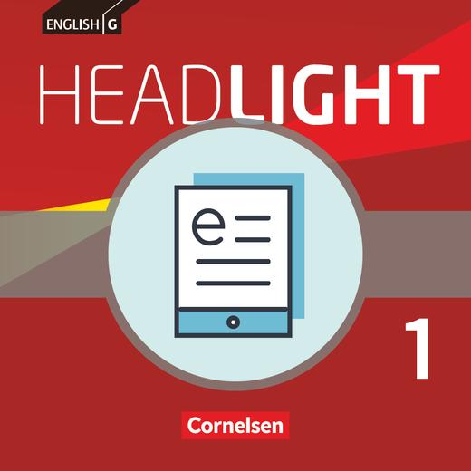 English G Headlight - Schülerbuch als E-Book - Band 1: 5. Schuljahr