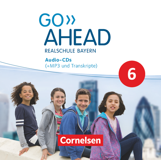 Go Ahead - Audio-CDs - 6. Jahrgangsstufe
