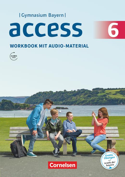 Access - Workbook mit Audios online - 6. Jahrgangsstufe