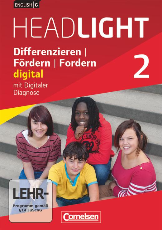 English G Headlight - Differenzieren, Fördern, Fordern - digital - DVD-ROM - Band 2: 6. Schuljahr